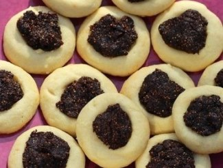Fig Thumbprint Cookies