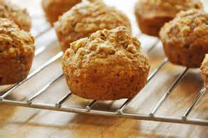 Walnut Wheat Muffins