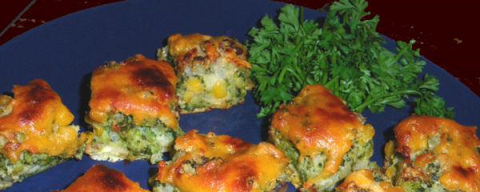 Cheddar Cheese & Broccoli Appetizers