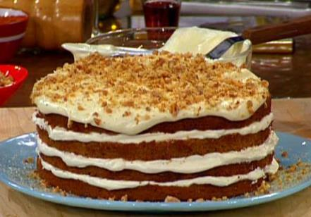 Delicious Nut & Spice Cake