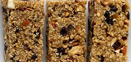 Nutty Date Bars