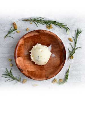 Rosemary Honey Walnut Ice Cream