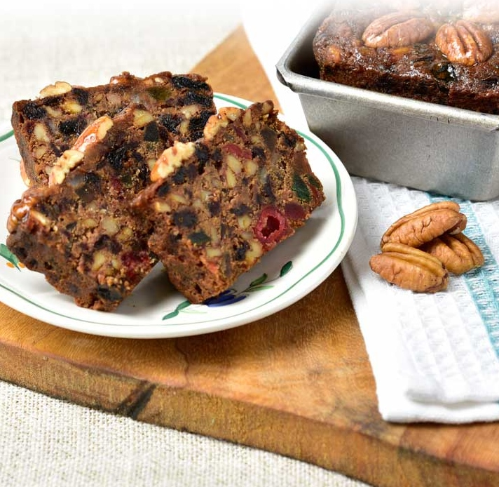 Gluten Free Fruit Cake Detailed