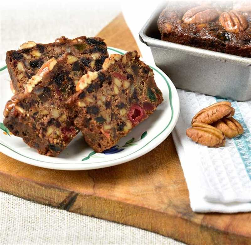 Gluten Free Fruitcake Detailed