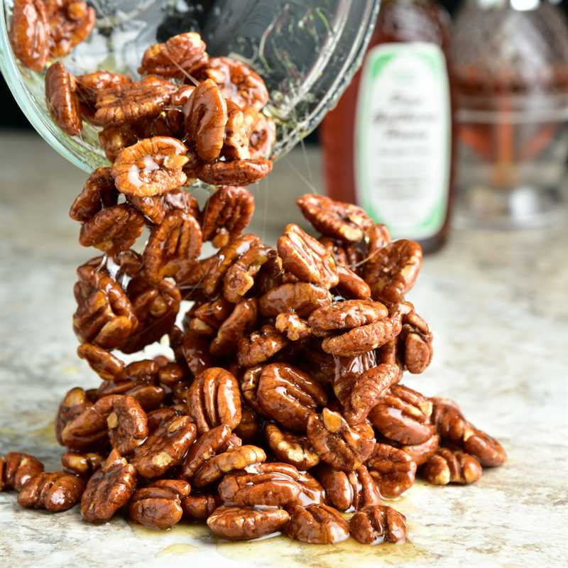 Honey-Kissed Roasted Pecans Detailed
