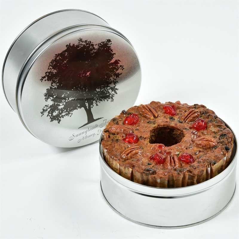 Round Cake in Gift Tin