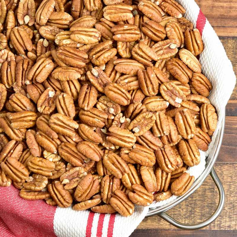 pecan halves - raw mammoth pecan halves from georgia
