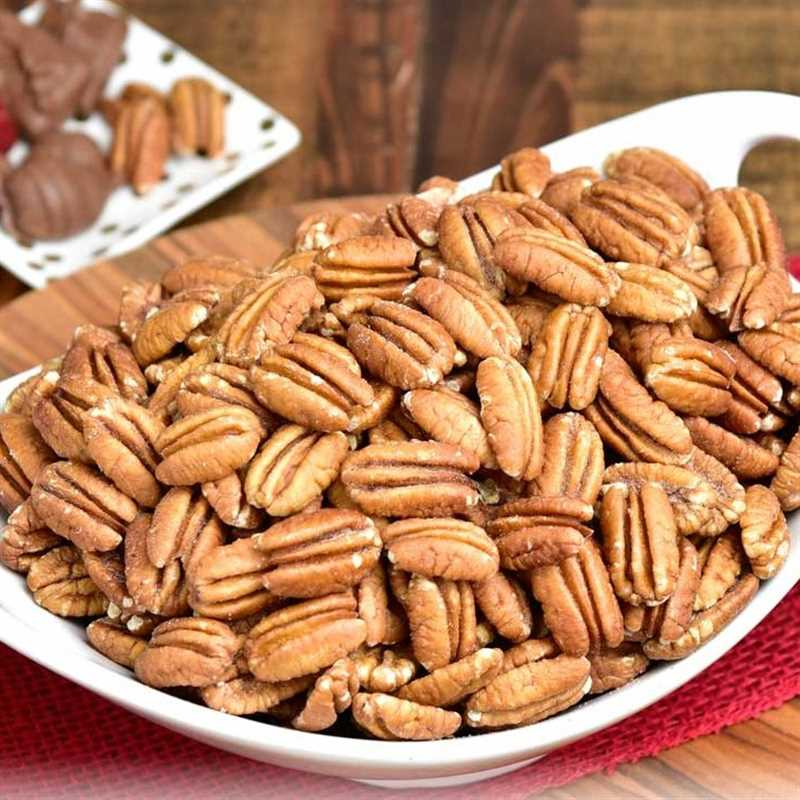 Toasted Salted Pecans Detailed