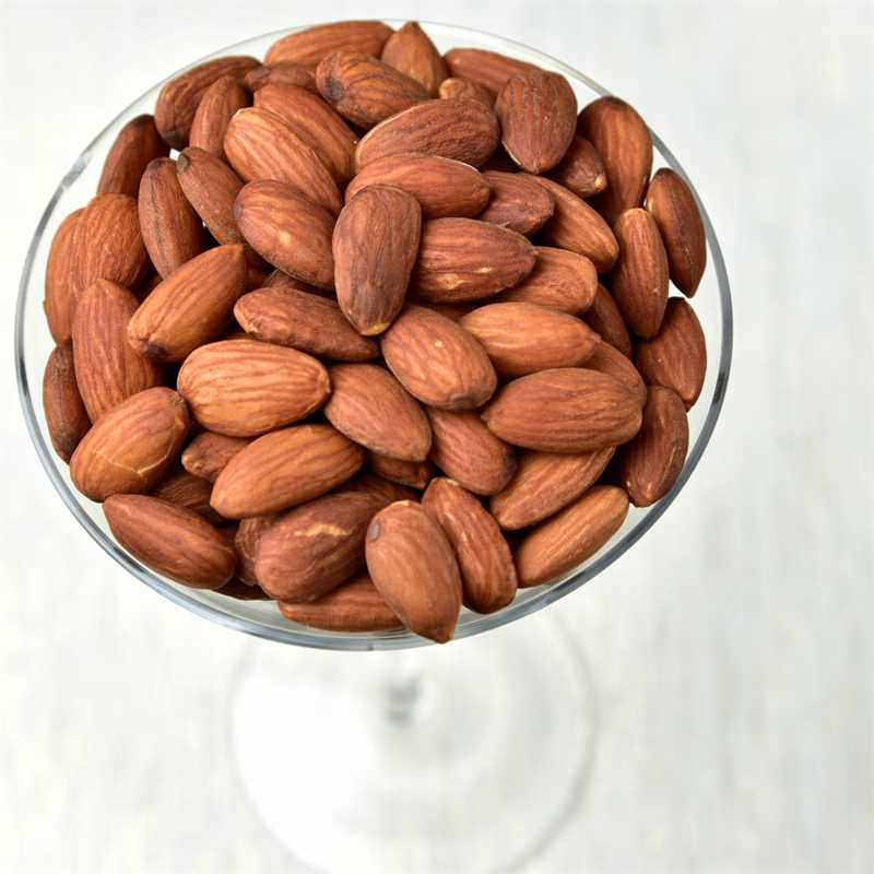 Whole Almonds Toasted - No Salt