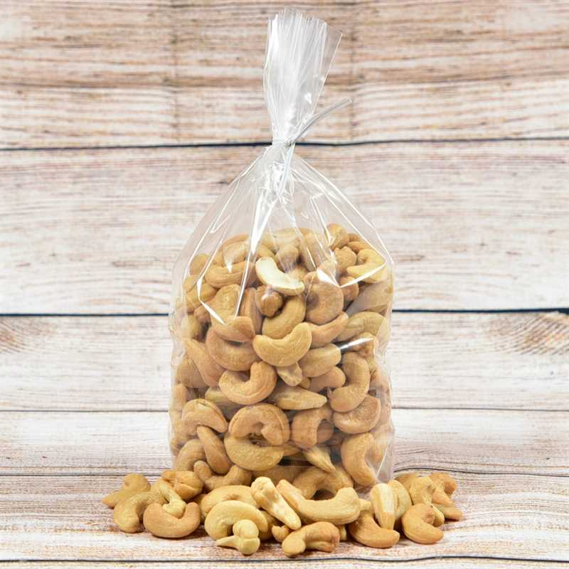Jumbo Cashews Toasted & Salted