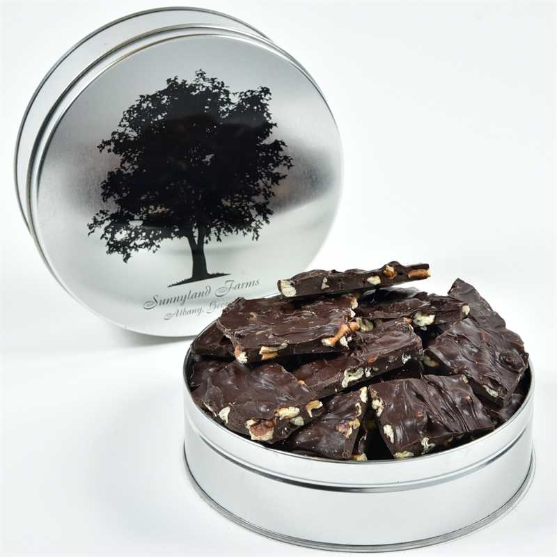 Case of 15 - Dark Chocolate Pecan Bark