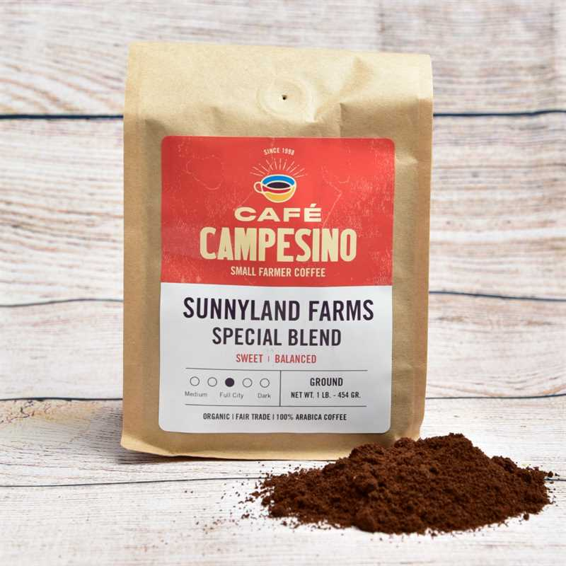 The Sunnyland Blend Gourmet Coffee