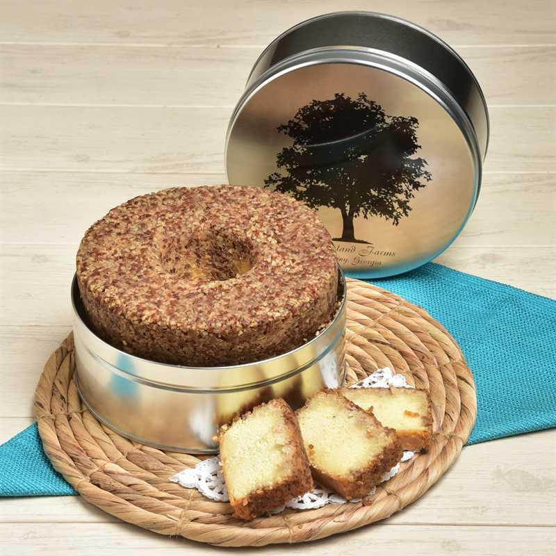 Rum Crunch Cake Detailed