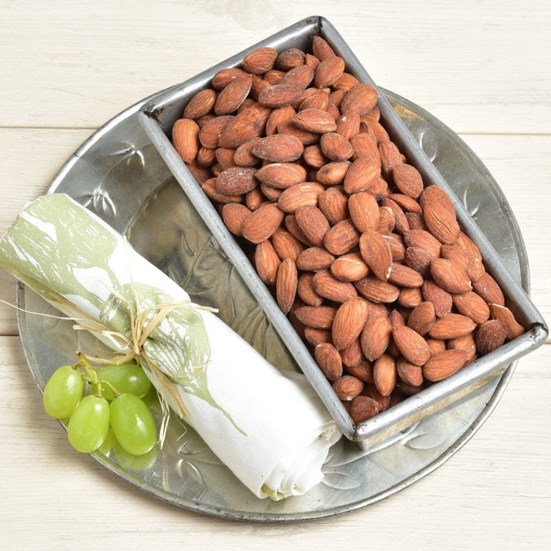 Whole Almonds Toasted & Salted Detailed