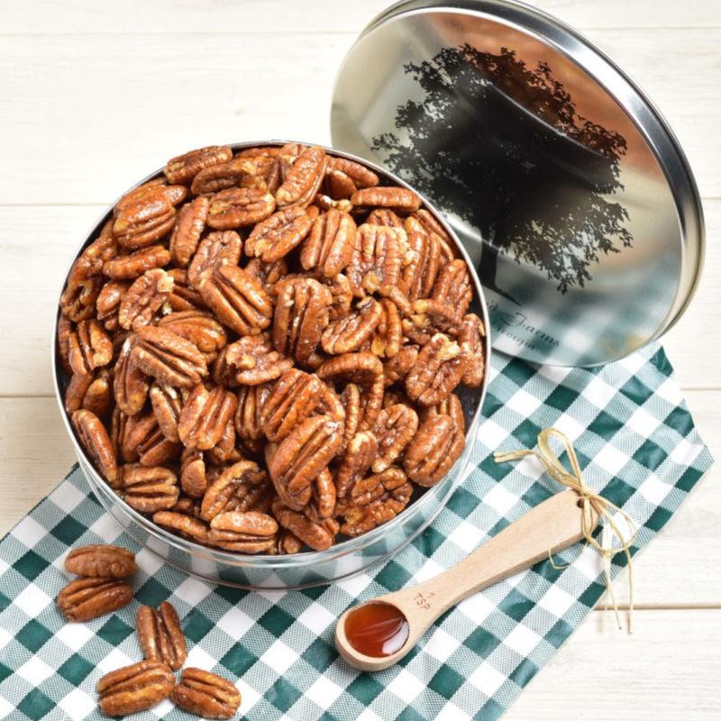 Honey-Kissed Roasted Pecans Detailed