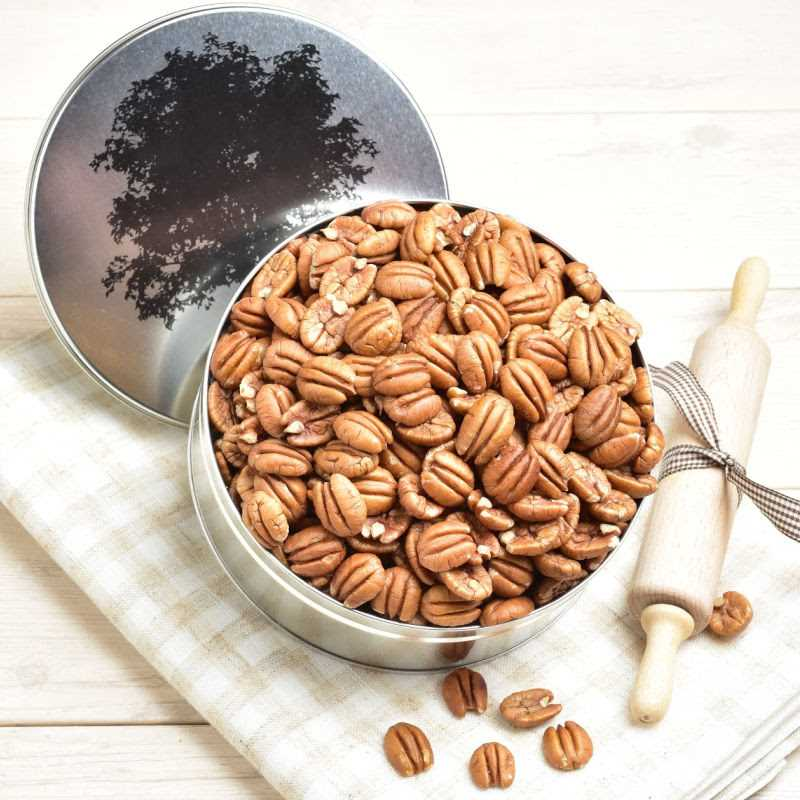 Junior Pecan Halves Detailed