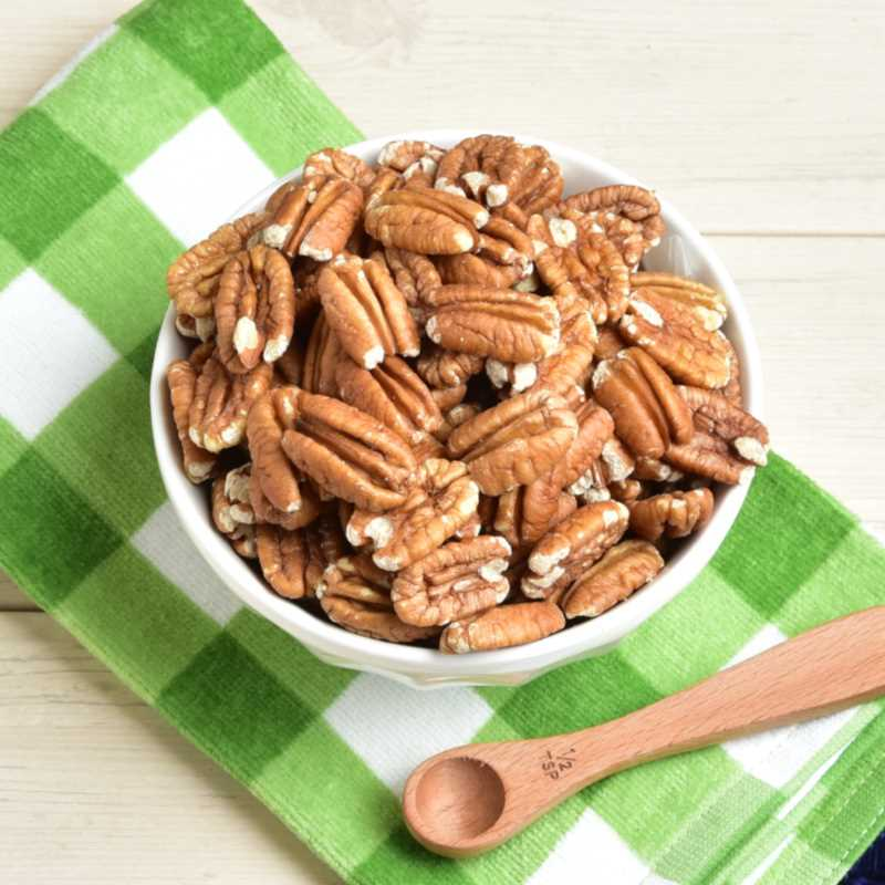 No Salt Toasted Pecans Detailed