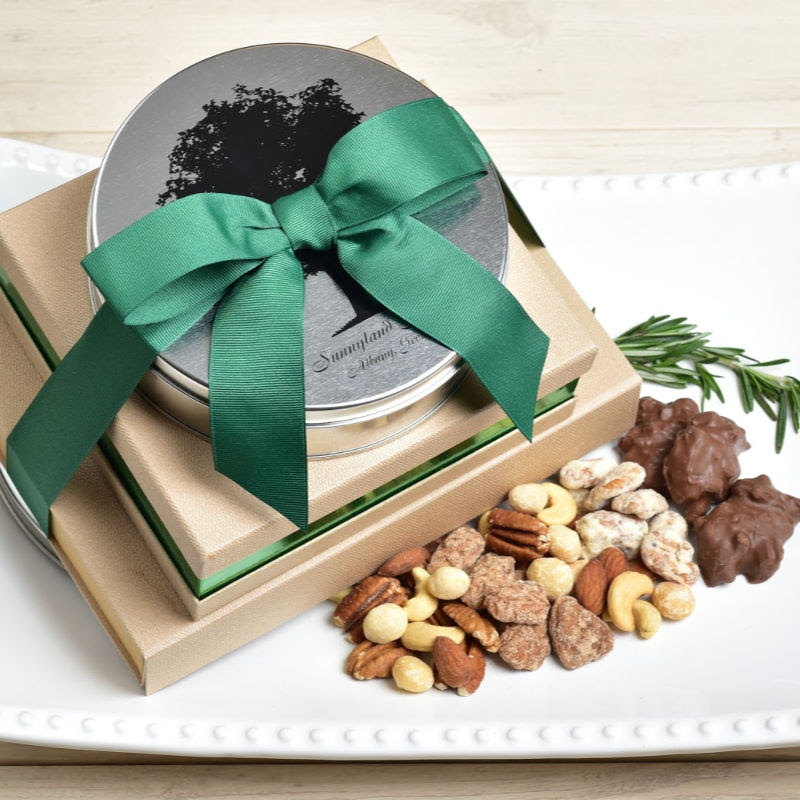 The Premium Collection  - Candied Pecans, Heavenly Mix, and Pecan Caramel Clusters
