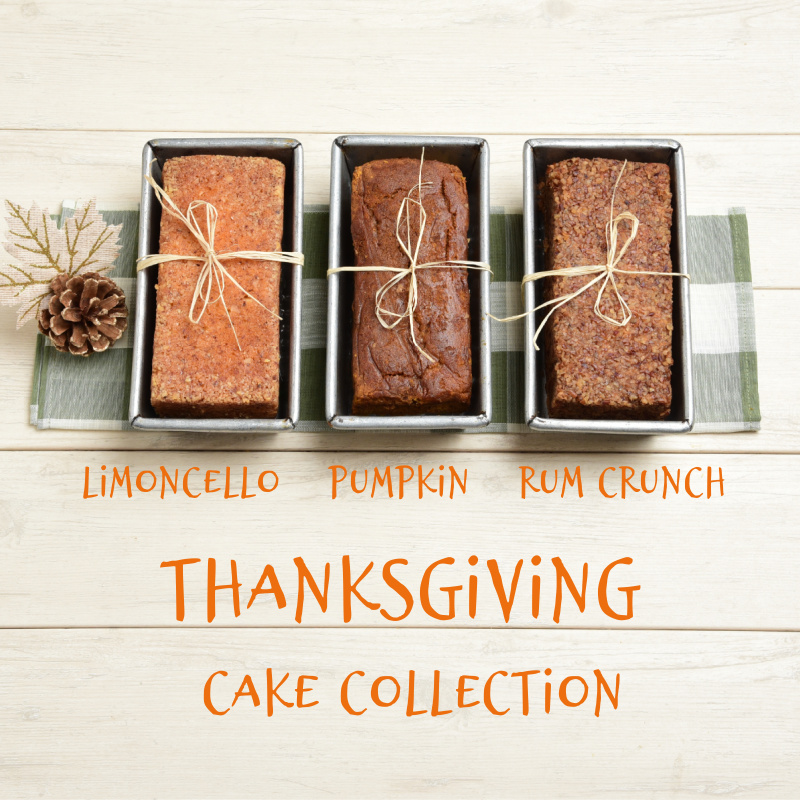 Thanksgiving Cake Collection Detailed