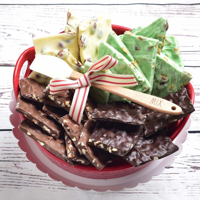 Chocolate Bark Quartet Detailed