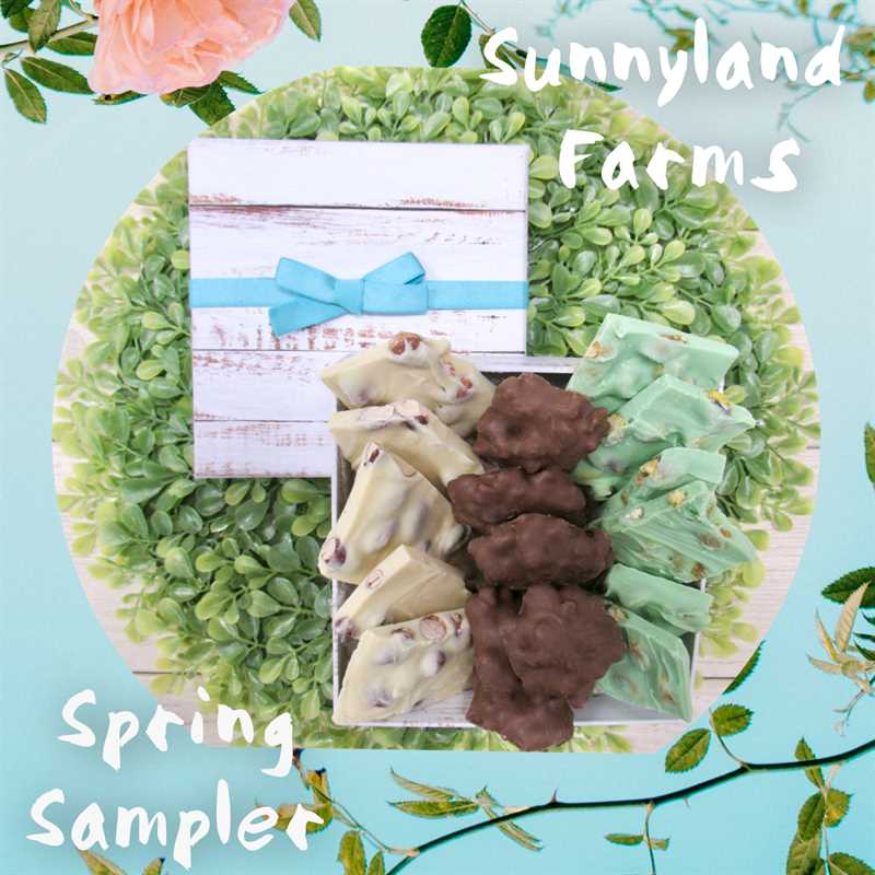 Spring Sampler - Chocolate Bark and Clusters