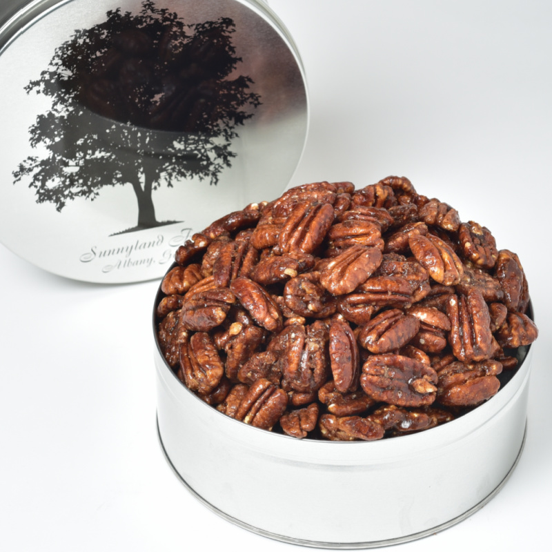Candied Chipotle Pecans