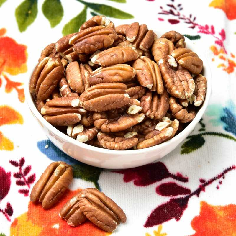 No Salt Toasted Pecans